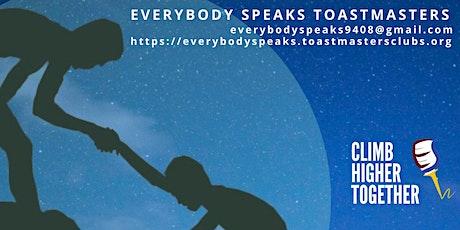 OPEN HOUSE Everybody Speaks Toastmasters (public speaking skills) tickets