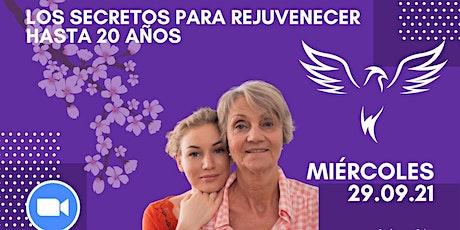 LOS TRES SECRETOS MILENARIOS PARA VERSE 20 AÑOS MÁS JOVEN entradas