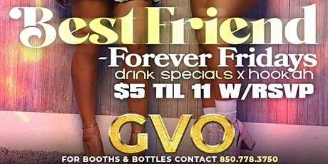 FOREVER FRIDAY'S | FALL 21' tickets