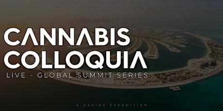 CANNABIS COLLOQUIA - Medical Cannabis - LIVE - Global Summit tickets