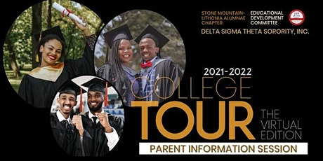2021-2022 College Tour Informational tickets