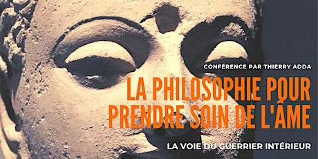 Conférence : La Philosophie pour prendre soin de l'âme par Thierry Adda billets