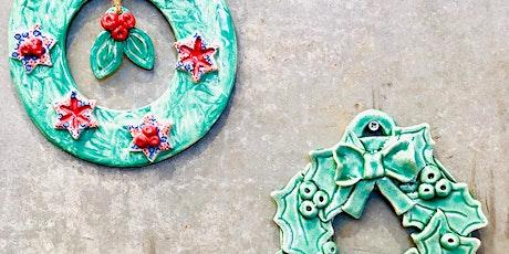 WORKSHOP | Ceramic Wreath with Carys Martin tickets