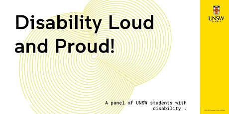 Disability Loud and Proud! tickets