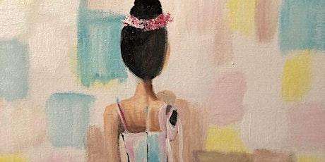 ONLINE Paint Along @ Home -- Ballerina tickets