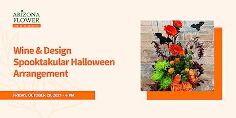 Wine & Design Spooktakular Halloween Arrangement tickets