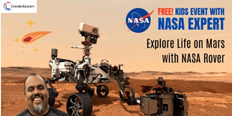 *Free* Explore Life on Mars with NASA Rover tickets