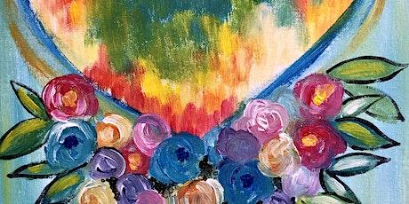 ONLINE Paint Along @ Home -- Love Heart tickets