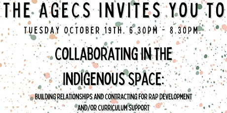 Collaborating in the Indigenous Space tickets