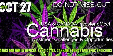 Cannabis Investor eMeet- USA & CANADA tickets