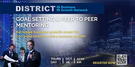 District32 Connect Premium Business Growth Event – Thu 28 Oct tickets