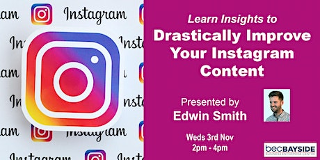 How to use Insights To Drastically Improve Your Instagram Content tickets
