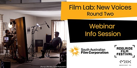 Film Lab: New Voices  - Round Two - Webinar Information Session tickets