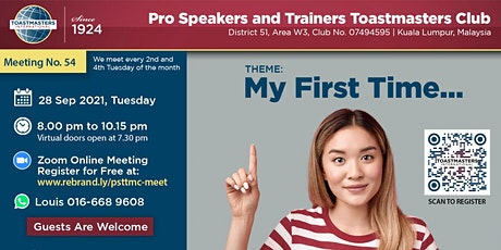 Improve Your Public Speaking Skills at Pro Speakers Toastmasters tickets