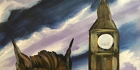 """Painting & Brews - """"Werewolf in London"""" tickets"""
