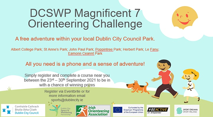 The DCSWP Magnificent 7 Orienteering Challenge image
