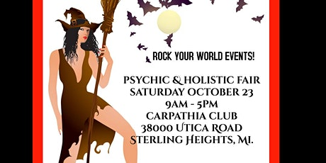 Spooktacular Psychic & Holistic Fair in Sterling Heights! tickets