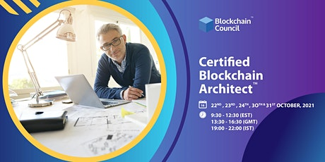 Certified Blockchain Architect - ILT tickets