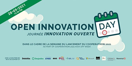 Open Innovation Day | Cooperathon 2021 Kickoff conference tickets