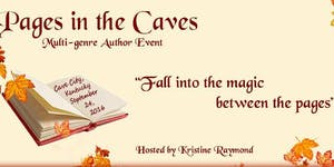 Pages in the Caves Author Event