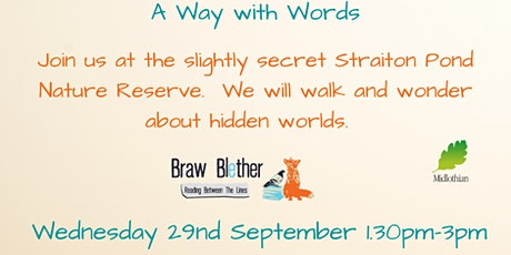 A Way With Words Straiton Pond Nature Reserve tickets