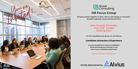 HR Focus Group - Candidate Attraction & Experience tickets