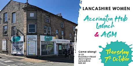 Lancashire Women's Accrington Hub Launch & AGM tickets