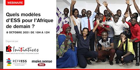 Quels modèles d'ESS pour l'Afrique de demain ? billets