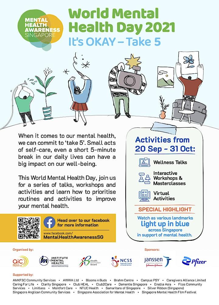 World Mental Health Day 2021 image