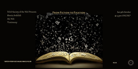 """ICLO-NLS """"From Fiction to Fixation"""" Testimony by Dossia Avdelidi As, NLS tickets"""