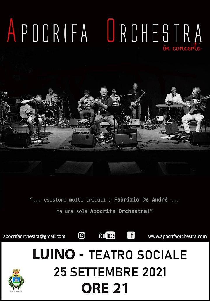 Immagine Apocrifa orchestra in concerto a Luino