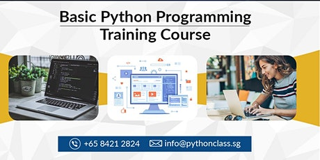 Basic Python Programming Course for Beginners Singapore - Python Classes tickets