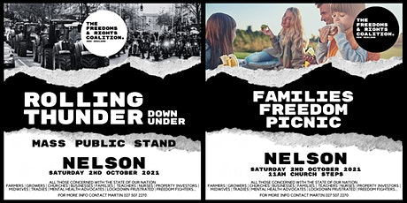 #FreedomsNZ - Nelson stand tickets