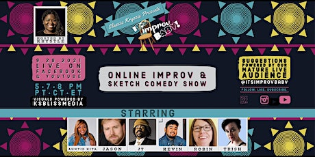 It's Improv Baby! Online Improv And Sketch Show! tickets