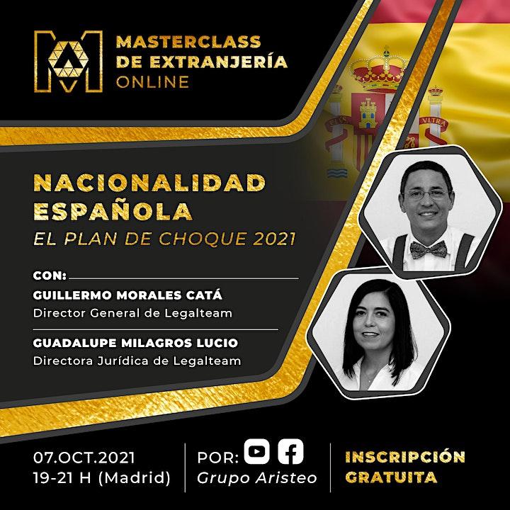 Imagen de Masterclass de Extranjería Online: Nacionalidad Española