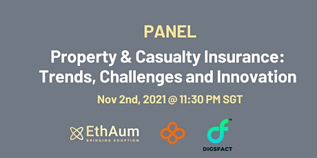 Property & Casualty Insurance: Claims Trends, Challenges and Innovation tickets