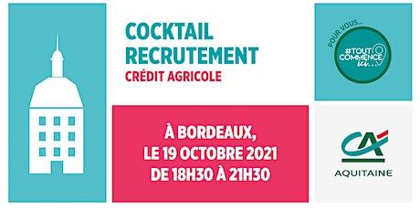 Cocktail Recrutement à Bordeaux : décrochez un emploi ! tickets