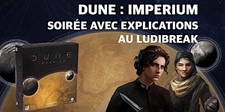 Soirée Explications Dune Impérium billets
