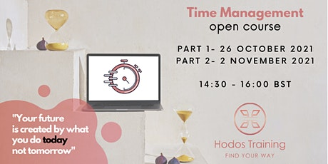 Time Management Course tickets