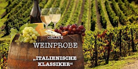 6. Online Weinprobe LIVE mit dem VINTAGE in Lilienthal /// Italien ingressos