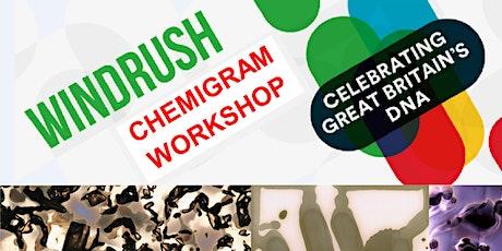Windrush chemigram workshop tickets