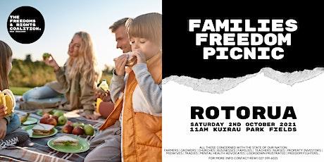 #FreedomsNZ - Rotorua stand tickets