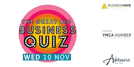 The Great Big Business Quiz tickets