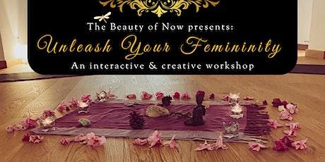 Unleash Your Femininity - An Interactive & Creative Workshop entradas