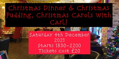DAISY'S TRADITIONAL CHRISTMAS DINNER WITH PUDDING & XMAS CAROLS tickets
