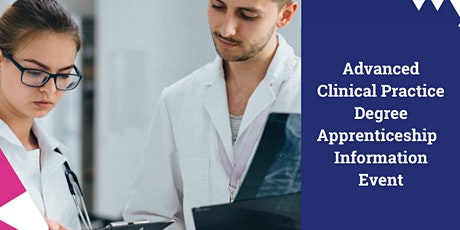 Advanced Clinical Practice Apprenticeship - Employer event tickets