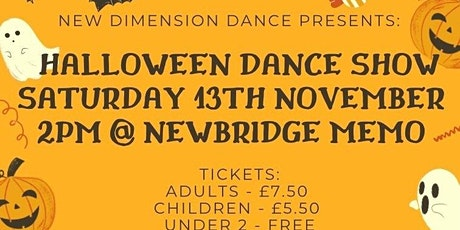 NEW DIMENSION HALLOWEEN DANCE SHOW tickets