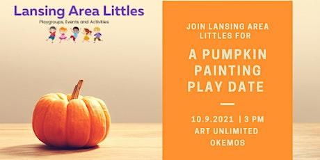 Pumpkin Painting Playdate tickets