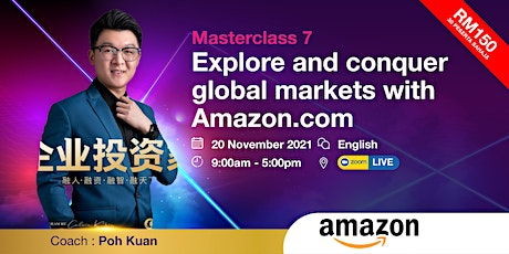 MC 7 - Explore and conquer global markets with Amazon.com tickets