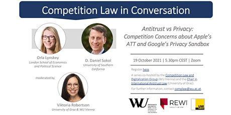 Competition Law in Conversation: Antitrust vs Privacy tickets